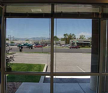 Image result for Perforated Window See Thru Decals